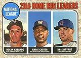 2017 Topps Heritage Baseball #5 Chris Carter/Nolan Arenado/Kris Bryant