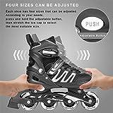Woolitime Sports Adjustable Rollerblades for Boys