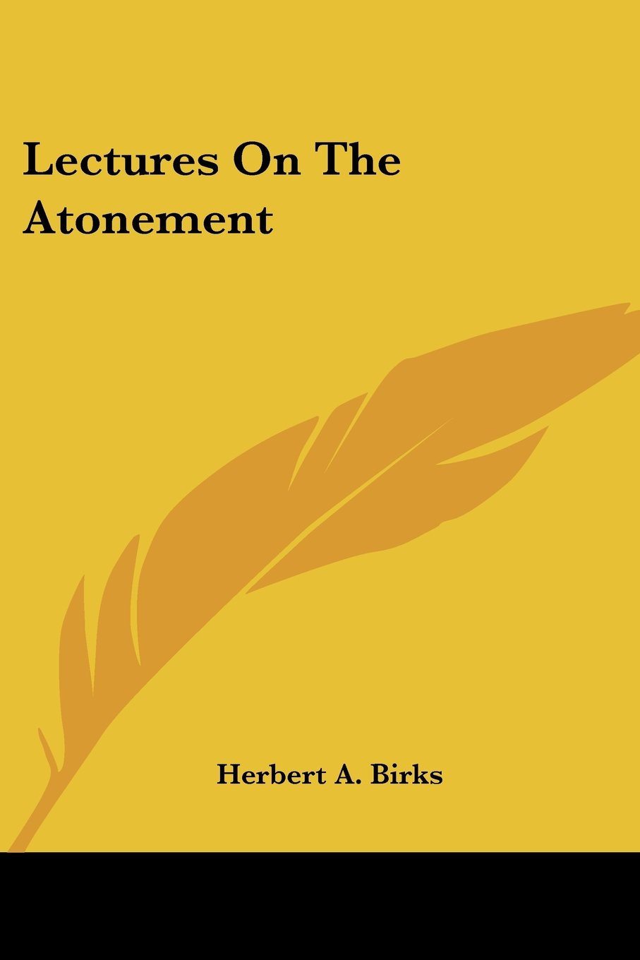 Read Online Lectures On The Atonement PDF