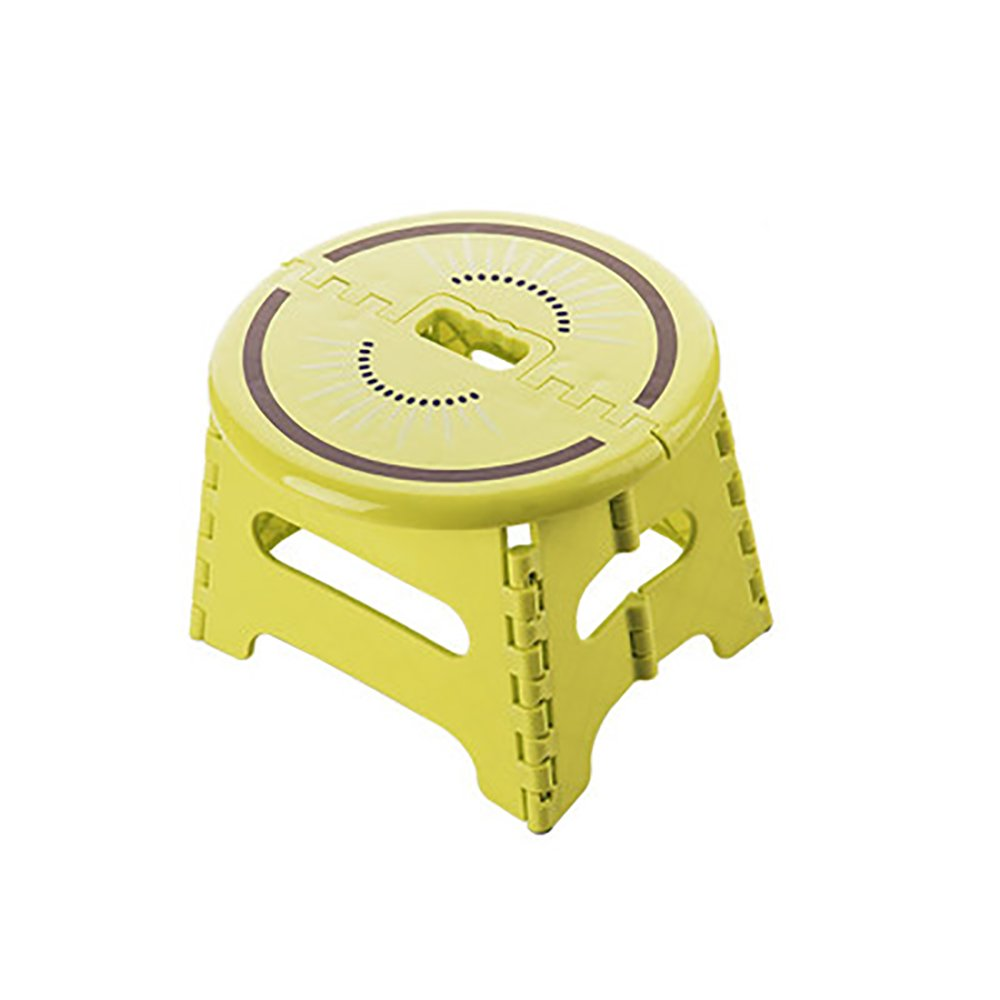 Bathroom Stool Foldable Plastic Stool Home Slip Small Bench Baby Doing Small Stool Portable Portable Outdoor Portable Children Stool Size Optional (Color : B)