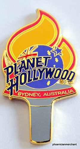 Planet Hollywood Sydney Olympic Torch City Pin (Sydney Olympic Pins)