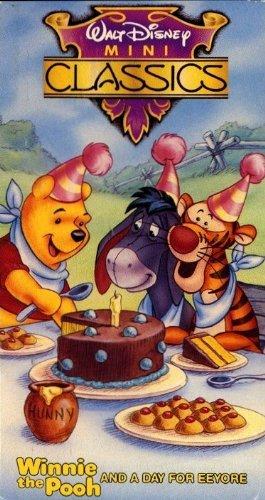 Walt Disney Mini Classics: Winnie the Pooh and a Day for Eeyore [VHS] (Winnie The Pooh A Day For Eeyore)