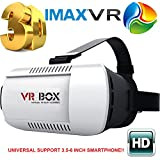Shengsite Vr Box 3D Glasses VR Virtual Reality 3D Video Glasses Helmet Headset Adjust Cardboard For 4.7 to 6 Inch Smartphones iPhone 6 plus 6 5s 5 Samsung Galaxy IOS Android Cellphones