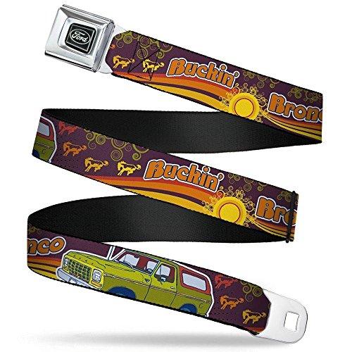 Buckle-Down Seatbelt Belt Bronco Regular