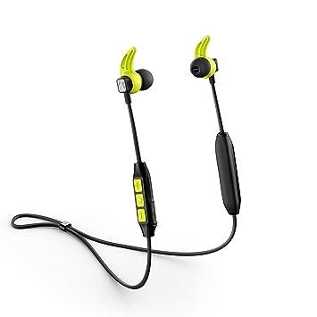 0ceaa09e318 Sennheiser CX Sport Bluetooth In-Ear Wireless Sports Headphone, Black/Yellow
