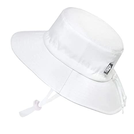 dcf1daa4 Kids Summer Quick Dry Swim Sun Hats 50 UPF, Adjustable Foldable Packable  (XL: 3-12Y, White): Amazon.in: Beauty