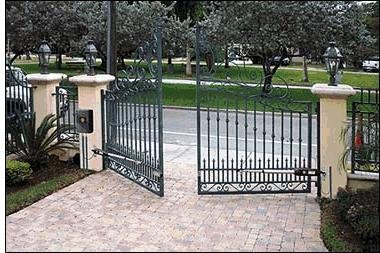 Amazon.com: Automatic Dual Gate Opener - Complete with Solar Cell ...