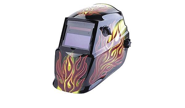 Ratchet Brown Plastic LINCOLN ELECTRIC K4071-1 Welding Helmet