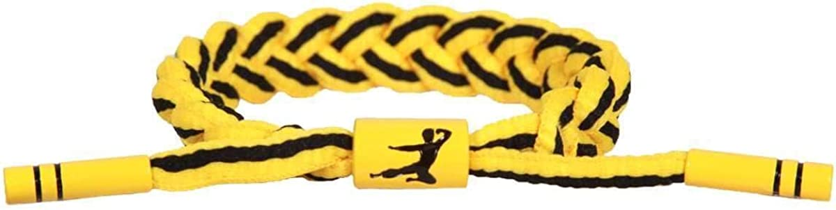 Bruce Lee Infinite Optimism Rastaclat Bracelet in Yellow, Size Onesize