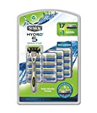 Schick Hydro 5 Sensitve Razors for Men With 1 Razor Handle and 17 Razor Blades Refills ( Pack May Vary )