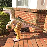 Jet Creations 51 inch Inflatable Plush Velociraptor Raptor, Dinosaur World Jurassic Room Décor Party Favors Decorations, DI-RAPTOR