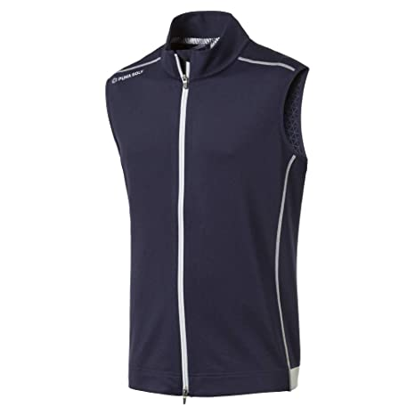 6aae0e49d9d5 Amazon.com  PUMA Golf Men s 2019 Pwrwarm Vest  Sports   Outdoors