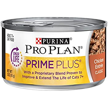 Amazon.com : Purina Pro Plan Grain Free Senior Pate Wet Cat ...