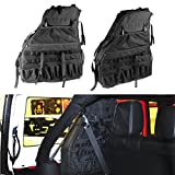 SUNPIE Roll Cage Multi-Pockets Storage & Organizers & Cargo Bag Saddlebag for 2007~2016 Jeep Wrangler JK Tool Kits Bottle Drink Phone Tissue Gadget Holder