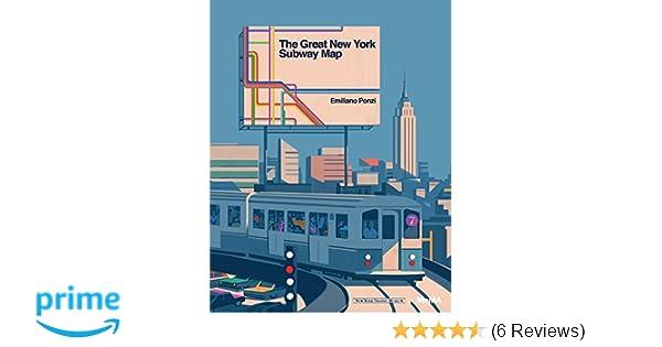 Nyc Subway Map Author Emiliano Ponzi.The Great New York Subway Map Emiliano Ponzi 9781633450257 Amazon