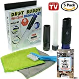 Vacuum Attachments Dusty Brush-As Seen On TV✨Dust Cleaning Kit✨ Pro Vent Cleaner Home Floor Daddy Car Pet Universal Vac Accessories Hose Parts Attachment Extension➕FREE Dyson Adapter Tool➕Bonus➕Ebook