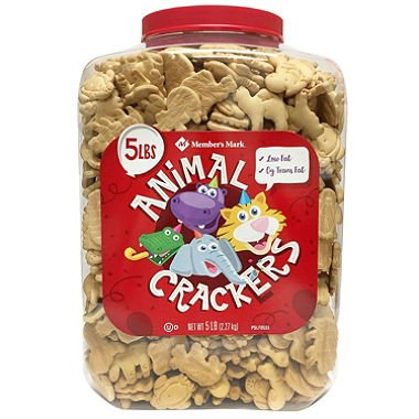 These Small Animal - Member's Mark Animal Crackers (5 lbs.) (pack of 2)