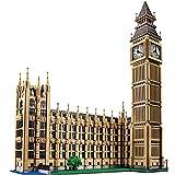 Nynoi lego buildings architecture Large Building Blocks World Famous Architecture Big Ben in London Compatible Lego INGlys City Technic 4164 Pcs
