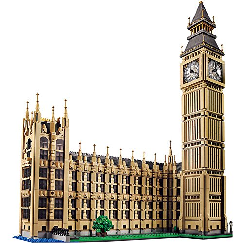Joker Henchman Costume (Nynoi lego buildings architecture Large Building Blocks World Famous Architecture Big Ben in London Compatible Lego INGlys City Technic 4164 Pcs)