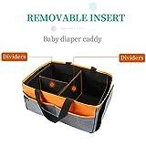 Baby Diaper Caddy Organizer:Large Diaper