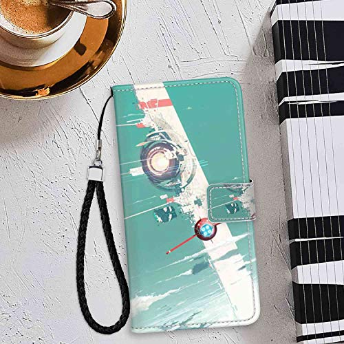 Phone Wallet Case for iPhone 6s Plus or 6 Plus (5.5inch) Satellite Transmitter Team
