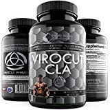 * VIROCUT EXTREME CLA * Cla For Women – Cla For Men - Cla Safflower Oil For Weight Loss And Belly Fat - Cla Safflower Oil - Cla 1250 - Cla 3000 - Cla Supplements – Cla Pills – CLA For Bodybuilding