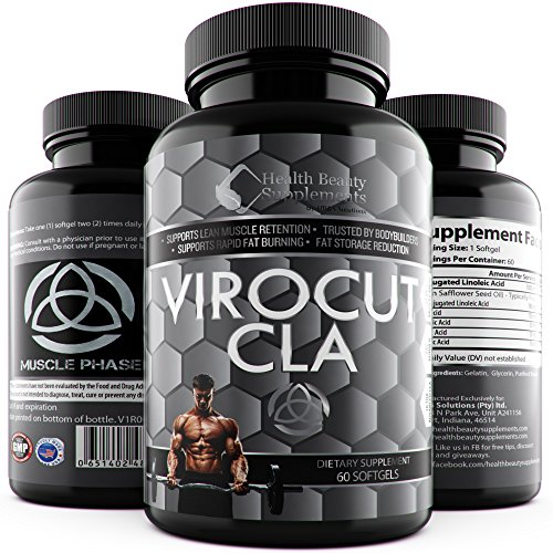 * VIROCUT EXTREME CLA * Best Cla Safflower Oil For Weight Loss And Belly Fat – Fast Acting Weight Loss Pills For Men & Women – Slams Any – cla 1250 – Cla 3000 – cla 1250 – cla tonalin – cla carnitine