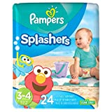 Pampers Splashers Diapers - Size 3-4 - 24 ct