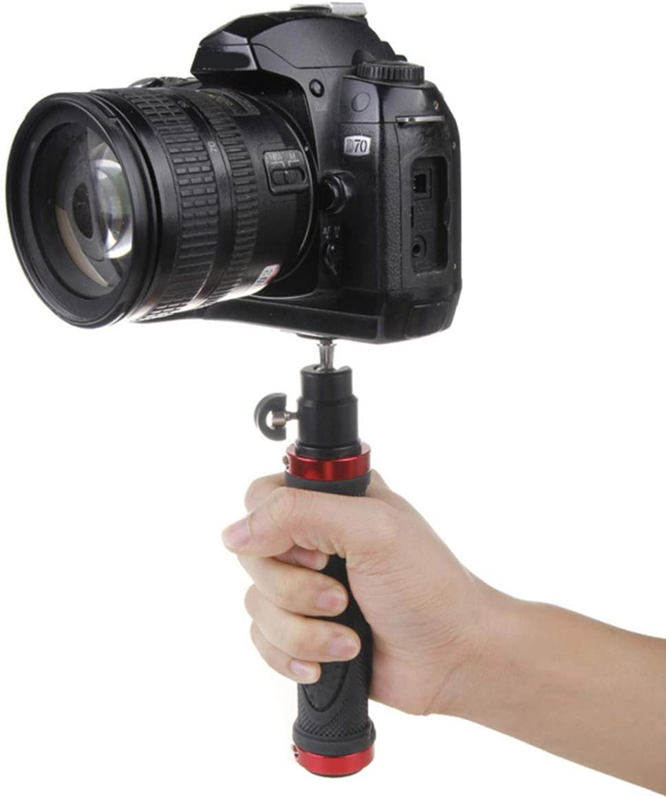 Noblik 1//4 Screw Handle Grip Stabilizer for Video Holder Stand Handheld Tripod for Digital Video Camera Led Video Light