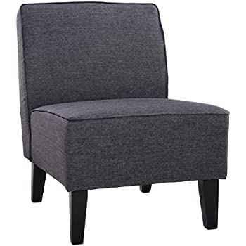Amazon.com: Giantex Deco Solids Accent Chair Armless Living Room ...