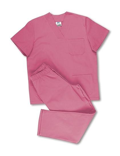 Marca 388-CSRXS - Chaqueta Pijama Sanitario Rosa Xs
