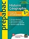 Prépabac Cours & entraînement Histoire-géographie 1re L,ES,S par Clavel