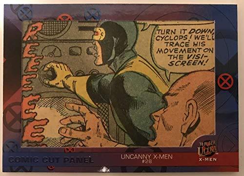 2018 Fleer Ultra X-Men Single Comic Cut Panels Non Sport #SC-UX28 Uncanny X-Men #28 SER/108 Official Marvel Trading Card by Upper Deck