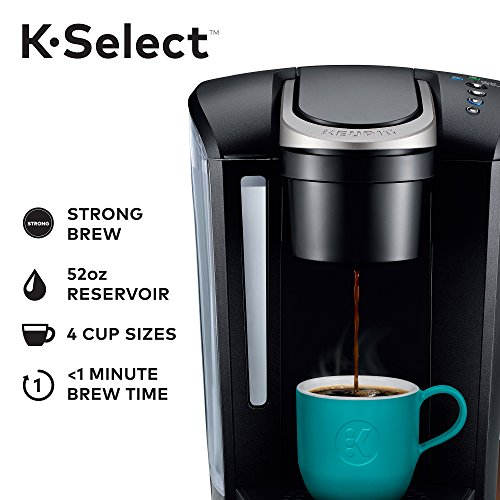 Keurig K Select Single Serve K Cup Pod Coffee Maker With