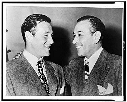 Infinite Photographs Photo: Actor George Raft,Bugsy Siegel,1947,Jewish American Mobster,Benjamin Siegel