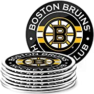 Mustang Products Boston Bruins 8 Pack Team Logo Coaster Set