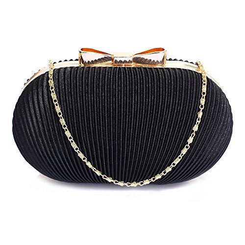 Gorgeous Black Black Evening UK Purse Clutch Satin Gorgeous FREE DELIVERY Satin grxB1wgq5