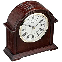 Seiko QXE050BLH Desk/Table Japanese Quartz Shelf Clock