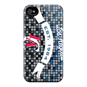 Hard Plastic Iphone 4/4s Cases Back Covers,hotcases At Perfect Los Angeles Clippers Customized