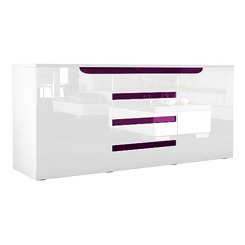 White Gloss Sideboards Amazon co uk