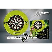 XQ Max Darts Mens XQ Max Michael Van Gerwen MvG Tournament Dartboard Steel Tip Darts Set QD7000300