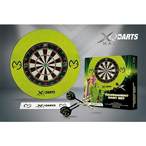18g Checkout Table trendsportprofi XQ MAX Michael Van Gerwen Mighty Generation II Soft Dart 90/% Tungsten 2 Satz zweifarbige Sch/äfte