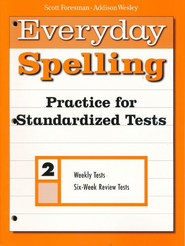 SPELLING 2000 PRACTICE FOR STANDARIZED TESTS GRADE 2