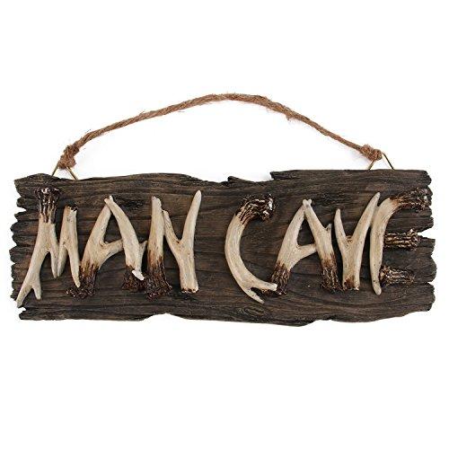Man Cave Sign (Liberty Imports Man Cave Sign Decorative Mancave Wooden Novelty Wall Decor)