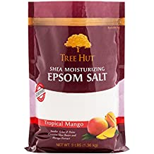 Tree Hut Shea Moisturizing Epsom Salt, Tropical Mango, 3 lb Bag