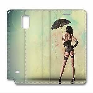 Samsung Galaxy Note 4 Case,Sexy girl Custom Samsung Galaxy Note 4 High-grade leather Cases