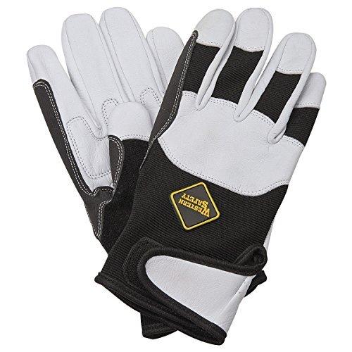 Goatskin Riding Work Gloves Large