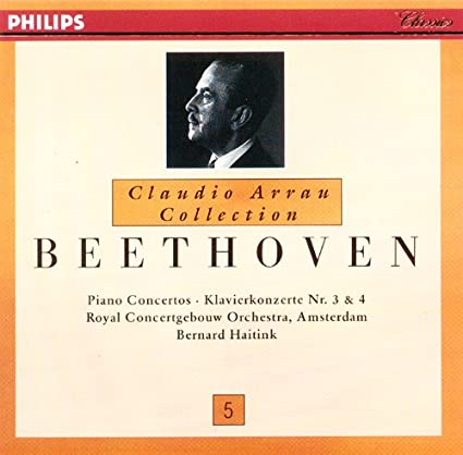 Claudio Arrau Collection 5 - Beethoven, Bernard Haitink, Amsterdam ...
