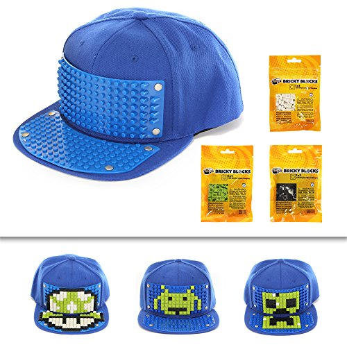 Bricky Blocks Video Game Snapback Kit by elope