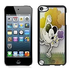 Beautiful DIY Designed With Mickey Mouse Cover Case For iPod Touch 5th Black Phone Case CR-410